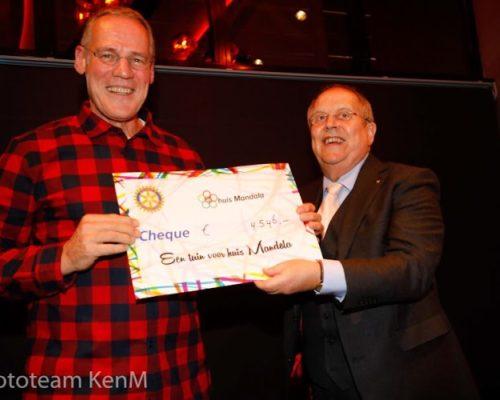 Rotary Nieuwegein steunt Huis Mandala